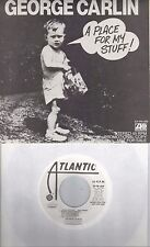 GEORGE CARLIN  A Place For My Stuff  rare promo EP 45 with PicSleeve
