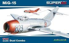 Eduard 1/144 MiG-15 Dual Combo Super 44 Plastic Model Kit 4443 EDU4443