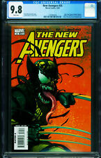 New Avengers #35 CGC 9.8  2007- 1st Venomized cover- Wolverine 1297063004