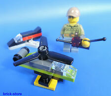 LEGO CITY 60133/Figura Me Mando a distancia Avión y Heli Drone