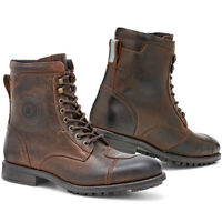 Rev'it! Marshall WR Retro Classic Motorcycle Shoes Boots Brown | Rev it Revit