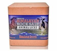 Compressed Himalayan Salt Lick for Horse, Cow, Goat, etc. 100% Pure & Natural