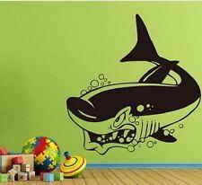 Hai Kinderzimmer Shark Wandtattoo Wallpaper Wand Schmuck 57 x 60 cm