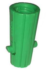 Unger AquaDozer Squeegee Acme Threaded Insert, Nylon, Green