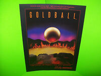 Bally GOLD BALL 1983 Original NOS Pinball Machine Flipper Game Promo Sales Flyer