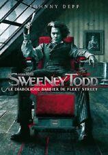 Sweeney Todd le diabolique barbier de Fleet Street DVD NEUF SOUS BLISTER