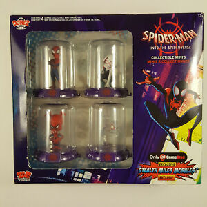 Spider-Man Into the Spider-verse Collectible Mini's Stealth Miles Morales
