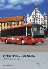 Prospekt MAN Bus Lion's Regio 8 06 2006 Busprospekt Omnibus Reisebus brochure