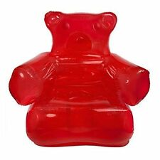 Red Inflatable Gummy Bear Chair
