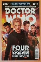 DOCTOR WHO #1 ~ FREE COMIC BOOK DAY ~ VF/NM 2017 TITAN COMICS ~ UNSTAMPED