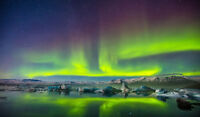 Framed Print - The Northern Lights (Aurora Borealis Iceland Norway Picture Art)
