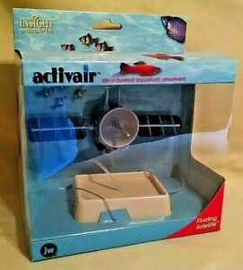 FISH TANK ORNAMENT FLOATING SATELLITE 21005 NEW JW PET ACTIVAIR AIR ACTUATED.
