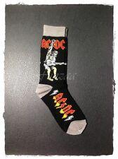 AC/DC Socks Hard Rock Band Music Collection Streetwear Free Shipping New Logo