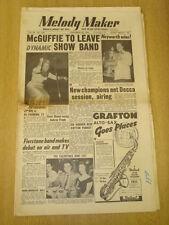 MELODY MAKER 1954 NOVEMBER 20 BILL MCGUFFIE DECCA DICKIE VALENTINE KENNY BAKER