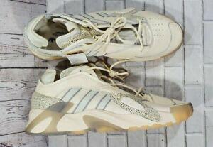 ADIDAS STREETBALL Cream White Grey Two Core Black EF6995 MENS SIZE 16