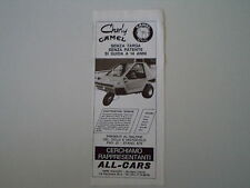 advertising Pubblicità 1975 ALL-CARS CHARLY CAMEL 50