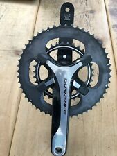 Shimano Dura Ace 11 speed Crankset 52/34 172.5mm arm length