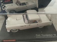 Carrera 25465 1956 Ford Thunderbird white