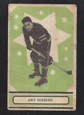 1933 OPC V304A #17 Art Somers, Vintage New York Rangers NHL Hockey 1933-34