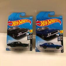 Hot Wheels Lot 2X '69 Dodge Charger 500 Rod Squad #9/10 Best for Track CL13