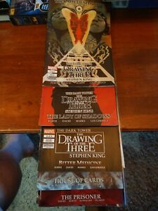 The Dark Tower The Drawing Of Three Stephen King Comics lot (16)