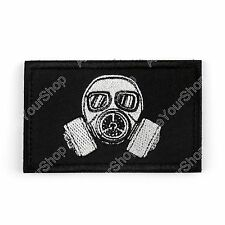 Embroidery Morale Gas Mask Patch Badge BS5