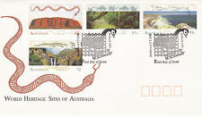 AUSTRALIA 4 MARCH 1993 WORLD HERITAGE SITES OFFICIAL FIRST DAY COVER SHS