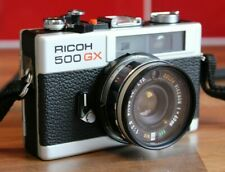 Ricoh 500GX 35mm Camera + Case