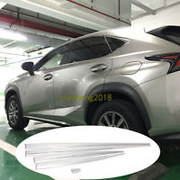 Stainless Steel Body Door Side Molding Trim For Lexus RX450h 350 RX200T 2015-17