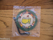 1997 MASTERS GOLF AUGUSTA NATIONAL BAG TAG TIGER WOODS NEW VERY VERY RARE PGA