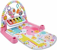 New Fisher Price Baby Infant Deluxe Kick & Play Piano Gym Pink Free Shipping