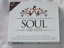 VARIOUS ARTISTS The Ultimate Collection - Soul 100 Hits (CD 2008)  5-CD BOXSET