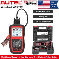 Autel AutoLink AL539B OBD2/EOBD DiagnosticScanner Car Code Reader Battery Test