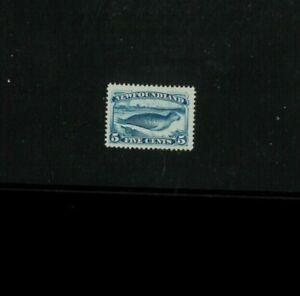Newfoundland (Canada) #55 Mint Hinged F-VF. Cat. 160.00, Net 100.00