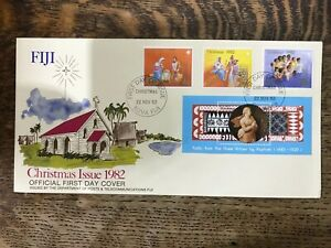 1982 Fiji Christmas First Day Cover
