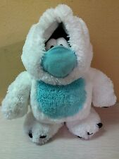 "Disney Club Penguin Yeti Abominable Snowman Penguin stuffed animal toy 9"" LE"