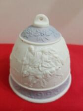 Lladro Christmas Ornament Bell 1993