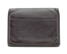 Mens Leather Card Business Card Wallet Holder Brown