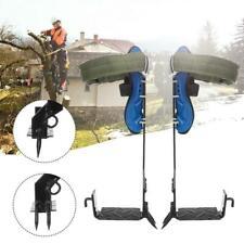 Tree Climbing Climbers Spike Hooks Gear w/Set Safety Belt Adjustable Lanyard