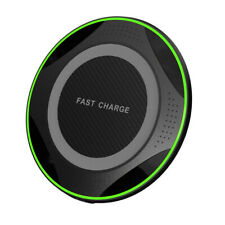 10W Fast Wireless Charger Charging Pad For Huawei P30 Pro Samsung S10 Black