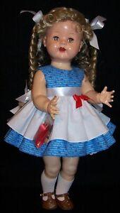 "Raggedy Ann Dress for 22"" Saucy Walker Dolls -  DRESS ONLY"
