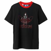 ADIDAS ORIGINALS STAR WARS KINDER JUNGS T-SHIRT DARTH VADER TEE SCHWARZ ROT 104