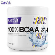 BCAA 200g Amino Acids Anabolic Anti Catabolic Powder Muscle Growth Whey Protein