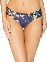 Trina Turk Womens 180576 Shirred Side Hipster Bikini Bottom Swimwear Size 8