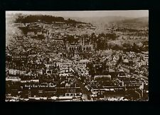 Somerset BATH Bird's Eye View c1900/20s? RP PPC