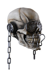 Halloween Megadeth Vic Rattlehead Latex Deluxe Mask TOT's Officially Licensed