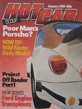 Hot Car magazine January 1981