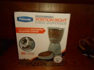 Petmate Programmable Portion Right Pet Feeder 30 Cups NEW IN BOX