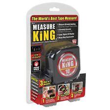 Measure King As Seen OnTV 3-in-1 Digital TapeMeasure Plastic/Metal/LCD MK-MC12/4