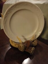 Ironstone China Plate Wedgewood WHITE IRONSTONE Corn Pattern 1800'S Vintage